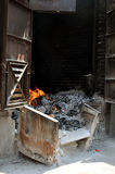 Zaal voor brandwond het spookgeld royalty-vrije stock afbeeldingen