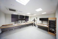 Zaal voor het opzetten van films in filmzorg Royalty-vrije Stock Foto