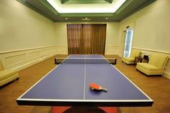 Zaal voor spel in pingpong Royalty-vrije Stock Afbeeldingen