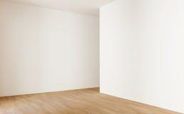 Zaal, witte muren Stock Foto