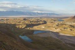 Zaalayskiy dal, Pamir, Kirgizistan Arkivbild