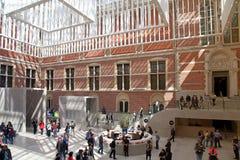 Zaalbinnenland van het nationale museum Rijksmuseum, Amsterdam royalty-vrije stock fotografie