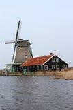 Zaan Windmill Royalty Free Stock Image