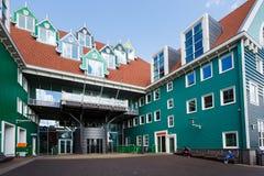 Zaandam Central Railroad Station, Netherlands Stock Images