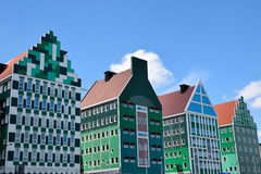 ZAANDAM, NETHERLANDS the design attracts guests by incorporating the traditional architecture of the Zaan region. Stock Images