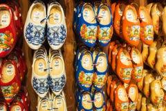 Zaanse Schans,荷兰- 2016年12月13日:装饰在Zaanse Schans,荷兰村庄  免版税库存照片