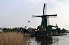 Zaanse Schans,荷兰 免版税库存照片