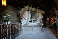 Zaanse Schans ветрянка мельница краски кота Стоковая Фотография