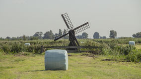 Zaanse Schans, ветрянки Стоковые Фото