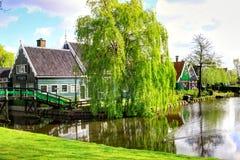 Zaanse Schans в Голландии стоковые фото