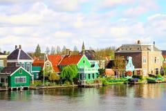 zaanse schans Голландии стоковая фотография rf
