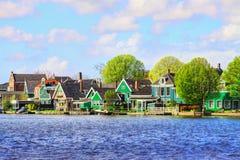 zaanse schans Голландии стоковое изображение rf
