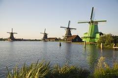 Zaanse Schans 1. Air, airstream, blade, bovenkruier, bovenkruiers, clean, Dutch windmill, Dutch windmills, Dutch, ecology, electricity, energy, environment royalty free stock photos