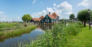 Zaanse Schans Amsterdam Royalty-vrije Stock Foto's