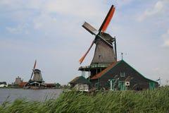 Zaanse Schans. Amsterdam Stock Photo