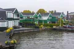 Zaanse Schans, Amsterdam, holandie Zdjęcia Royalty Free