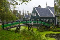 Zaanse Schans, Amsterdam, holandie Zdjęcie Stock