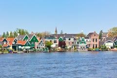 Zaanse Schans en Holanda foto de archivo libre de regalías