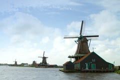 Zaanse Schans Fall Royalty Free Stock Photo