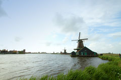 Zaanse Schans Fall Royalty Free Stock Images