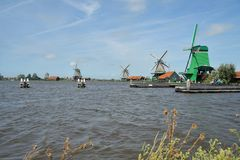 The Zaanse Schans. Royalty Free Stock Images