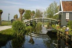 Zaanse Schans, Holanda Imágenes de archivo libres de regalías