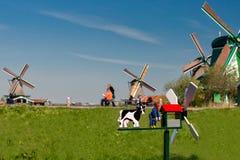Zaanse Schans Holandia Fotografia Royalty Free