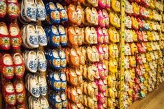 Zaanse Schans, holandie - Grudzień 13, 2016: Dekoracje w wiosce Zaanse Schans, Holandia Zdjęcie Stock