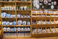 Zaanse Schans, holandie - Grudzień 13, 2016: Dekoracje w wiosce Zaanse Schans, Holandia Fotografia Stock