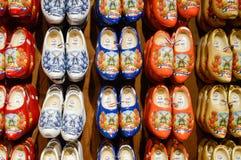 ZAANSE SCHANS holandie - 21 09 2015: Handmade holenderski chodak Zdjęcie Stock