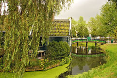Zaanse Schans, Holland Royalty-vrije Stock Foto