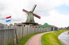 Zaanse Schans, Holland Royalty-vrije Stock Afbeeldingen
