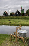 Zaanse Schans in Holland Stockbilder