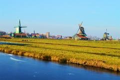 Zaanse Schans, Holland stockfotos