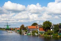 Zaanse Schans - l'Olanda immagini stock libere da diritti