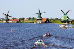 Zaanse Schans - l'Olanda Immagine Stock Libera da Diritti