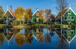The wonderful countryside of Netherlands royalty free stock photo