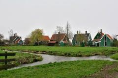Zaanse Schans, Netherlands Stock Photo