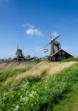 Zaanse Schans, The Netherlands. Stock Photos