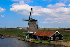 Zaanse Schans Royalty Free Stock Images