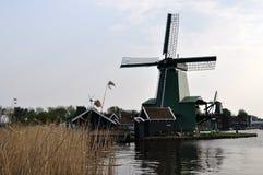 Zaanse Schans, Paesi Bassi Fotografie Stock Libere da Diritti