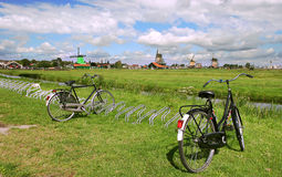Zaanse Schans rural view. Royalty Free Stock Photo