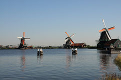 Zaanse Schans Royalty Free Stock Photography