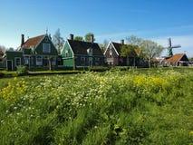 Zaanse Schans village Royalty Free Stock Image