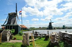The Zaanse Schans. Royalty Free Stock Photography
