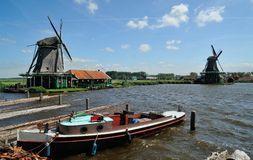 The Zaanse Schans. Royalty Free Stock Image