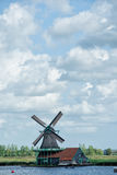 Zaanse Schans - Windmühlen Stockfoto