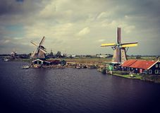 Zaanse Schans Stock Photography