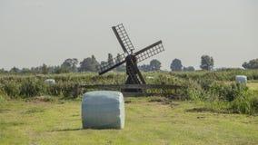 Zaanse Schans, windmills stock photos