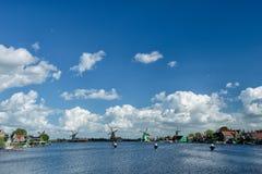 Zaanse Schans - Windmills Stock Photography